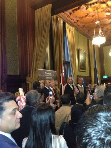 Members of the Yemeni diaspora and friends and officials of Yemen got together to celebrate one evening at the House of Commons.